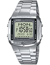 Casio Collection – Reloj Hombre Digital con Correa de Acero Inoxidable – DB-360N-1AEF