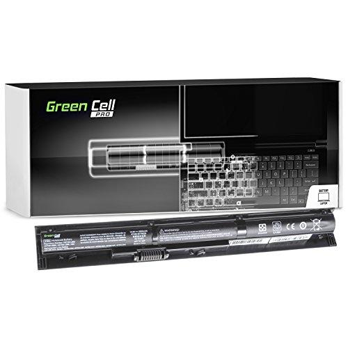 GC® PRO Serie Akku HP TPN-Q144 V104 VI04 VI04XL für HP Laptop (Samsung SDI Zellen 2600mAh 14.8V Schwarz) -