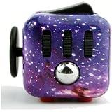 Cube Jellbaby Fidget soulage le Stress et l'anxiété, Fidget jouet amusant Cube anxiété Attention jouet pour enfants et adultes autistes TDAH ADD trouble obsessionnel-compulsif