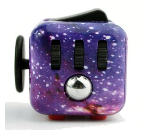 Jellbaby Fidget Cube lindert Stress und Angst, Fidget Spielzeug Spaß Cube Angst Aufmerksamkeit Spielzeug für Kinder und Erwachsene mit ADHS ADD OCD Autismus thumbnail