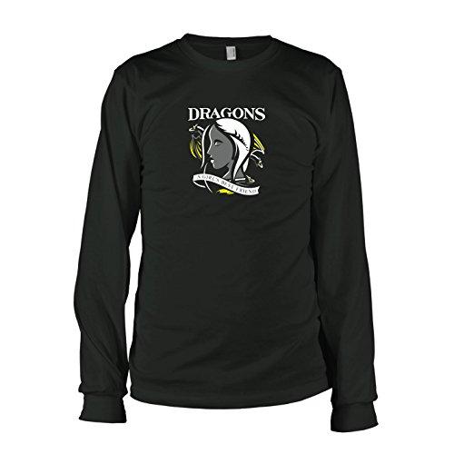 TEXLAB - GoT: Best Friend - Langarm T-Shirt, Herren, Größe XXL, - Brandon Stark Kostüm