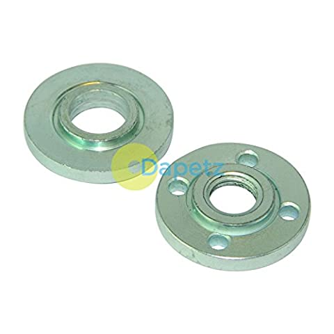 Dapetz ® Replacement Angle Grinder Inner & Outer Flange Nut Set M14 Thread
