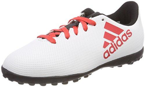Adidas X Tango 17.4 TF J, Botas de fútbol Unisex Adulto, Gris Gris/Correa/Negbas 000, 38 2/3 EU