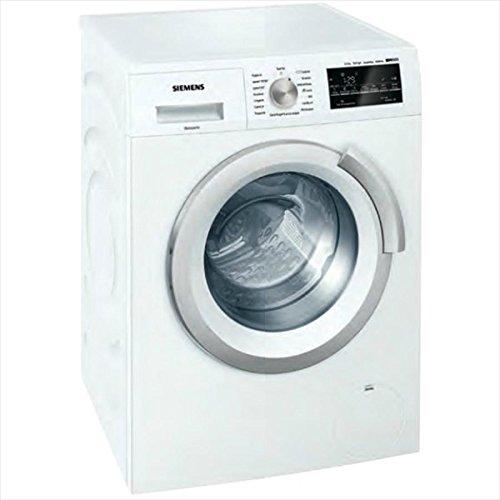 Siemens iQ500 WS12T447IT Libera installazione Carica frontale 6.5kg 1200Giri/min A+++ Bianco lavatrice