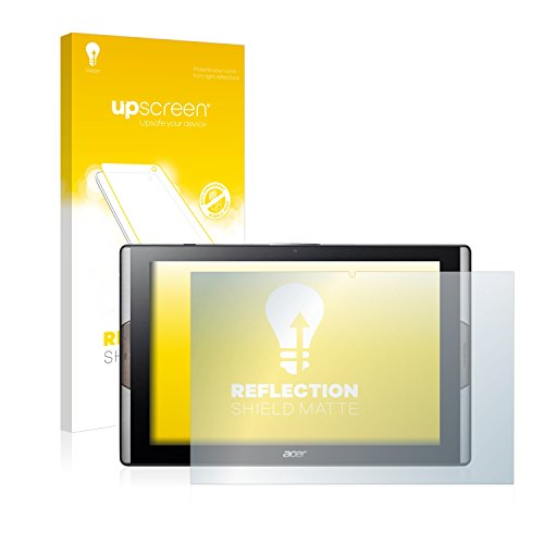 upscreen Entspiegelungs-Schutzfolie kompatibel mit Acer Iconia Tab 10 A3-A50 - Anti-Reflex Bildschirmschutz-Folie Matt
