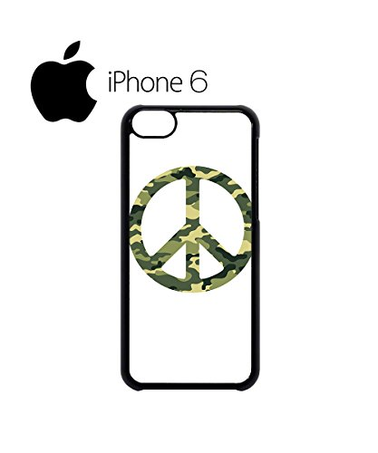 Army Pattern Paece Sign Cool Swag Mobile Phone Case Back Cover Hülle Weiß Schwarz for iPhone 6 White Weiß