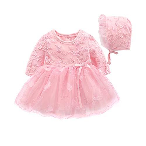 a40bd30d1 Vestido de Tul con Bordado para Niñas K-Youth Primavera Niños para 0 ...