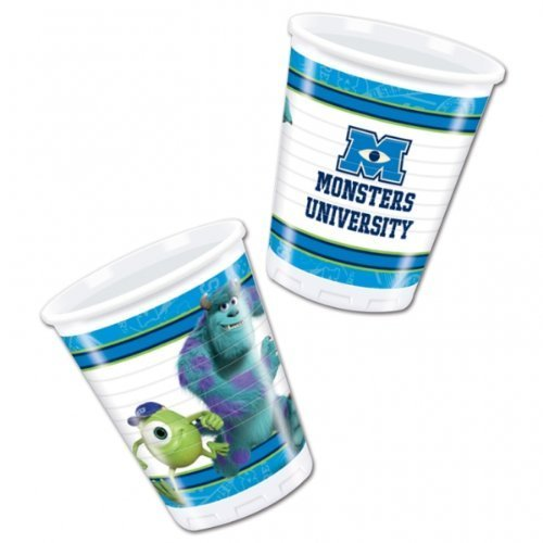 Monsters Inc Party-Becher, 8 Stück (Monsters Inc Party)