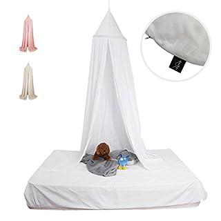 Baldachin, Baby Betthimmel In Weiß: Atmungsaktiv, Aus Baumwolle, Perfekt  Fürs Kinderbett  