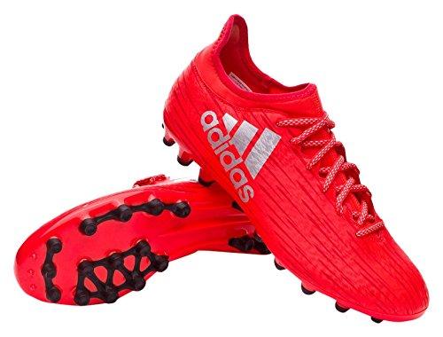 adidas X 16.3 Ag, pour les Chaussures de Formation de Football Homme Marron (Rojo/ftwbla/negbas)