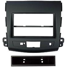 Autoleads FP-28-02 - Soporte DIN de radio para Mitsubishi Outlander, color negro