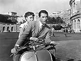 Vacances Romaines Roman Holiday De William Wyler Avec Gregory Peck Et Audrey Hepburn 1953 , 41x31 cm