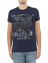 Diesel tee shirt 0091b diego bleu