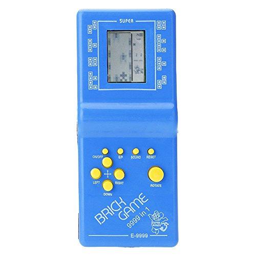 Tetris Spiel gehandhabt, Shiningup Vintage LCD Spiel Elektronische Retro Tetris Brick Handheld Reise Pocket Spielzeug Kinder pädagogische Spielzeug Spieler (Element Lcd)