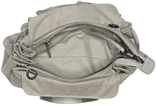 Marc O'Polo Damen Tote Bag, 18 x 60 x 50 cm Grau (Light Grey)