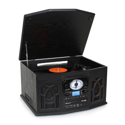 Auna-NR-620-Cadena-estreo-tocadiscos-grabacin-MP3