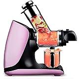 Exprimidor - Máquina automática de Frutas y Verduras de 200W de diámetro Grande y Modo de