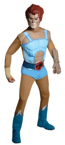 Kostüm O Lion (Rubies Kost-me 211090 Thundercats - Deluxe Lion-O Kost-m - Blau - One-Size -)