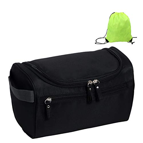 7df07561e Mooedcoe Bolsa de Aseo Colgando Viaje Impermeable Bolso de Baño Tocador  Lavar Hombre Mujer Dopp Kit