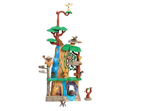 Disney – La Garde du Roi Lion – Training Lair – Décor + 2 Mini Figurines