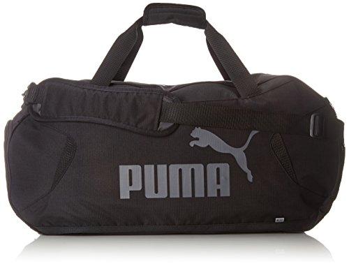 Puma Gym Duffle Bag M Bolsa, Unisex Adulto, Negro, Talla única