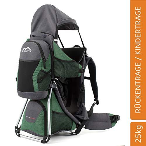 MONTIS Hoover Nexus, Mochila portabebés, 25 kg (Verde)