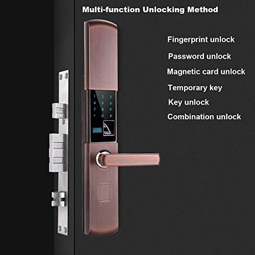Xcmenl Cerradura Puerta Inteligente Huella Digital