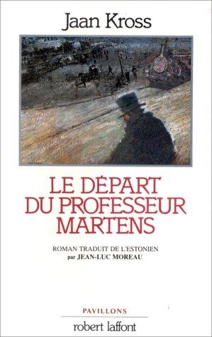 DEPART DU PROFESSEUR MARTENS