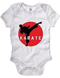 T-Shirtshock - Bodi Bebe TAM0073 karate keri 1 organic mens tshirt