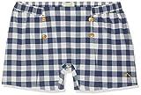 Nanos Short Pantalones Cortos Azul (Marino 07) 7 años (Tamaño del Fabricante:7) para Niñas