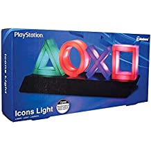 Paladone PP4140PS Lampada Playstation Icons, multicolore
