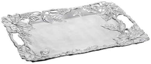 Arthur Court Magnolia 18-1/2-Inch Clutch Tray by Arthur Court Designs