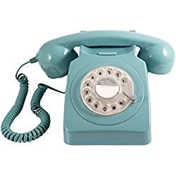 GPO 746 Rotary Telephone - Blue, [Importado de UK]