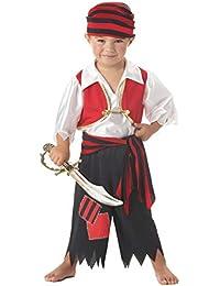 Forever Young Boys Disfraz de Pirata Unisex Girls Toddler Kids Fancy Dress Disfraz de Halloween 5
