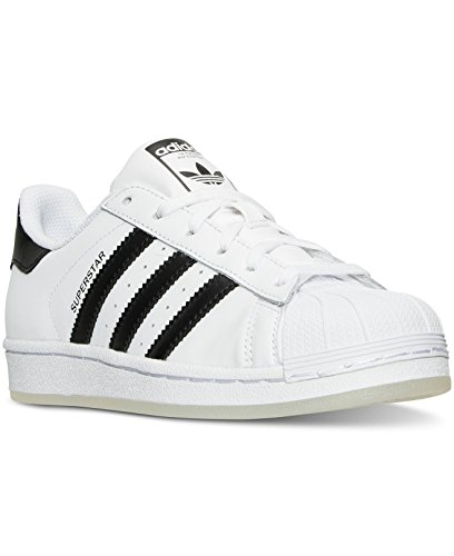 Adidas Originals Unisex Superstar Foundation J Blanc (Ftwr White/Core Black/Ftwr White)
