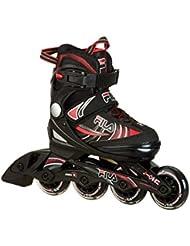 Fila X-one J de One Inline Skate, niño, J-ONE, blanco / rojo, L