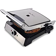 Dalkyo MB-35 - Parrilla Eléctrica, Panini grill, Plancha Sandwichera de 2000W,