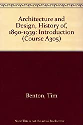 Architecture and Design, History of, 1890-1939: Introduction Unit 1-2 (Course A305)