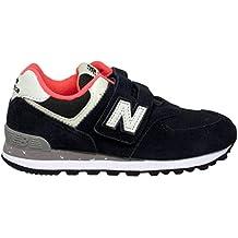 4c8b4fef7e New Balance IV574 HN Blu Scarpe Bambino Strappo Sneakers Camouflage