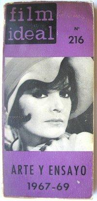 FILM IDEAL. Nº 216 - ARTE Y ENSAYO 1967-69