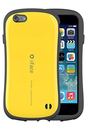 iFace First Class 5.5 inch Case for iPhone 6 Plus - Verizon, AT&T, T-Mobile, Sprint, International, and Unlocked - Apple New iPhone 6 Plus Case 2014 Model 5.5 inch (Orange) Yellow