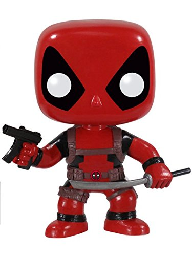 Funko POP Marvel: Deadpool Bobble Head Vinyl ()