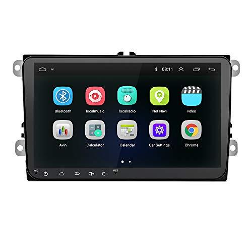 SODIAL 9 Pollice Android 8.0 Double 2Din Autoradio GPS Auto Radio 2 DIN USB per/Passat/Golf/Skoda/Seat WiFi 2 DIN