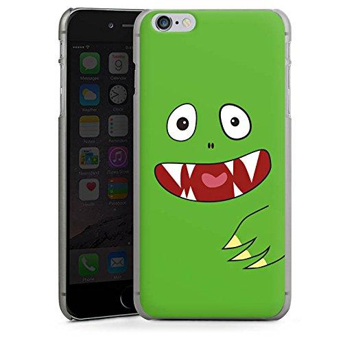 Apple iPhone X Silikon Hülle Case Schutzhülle Monster Kids Kinder Hard Case anthrazit-klar