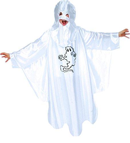 Halloweenia - Kinder Karneval/Halloween Geist Kostüm-Set, Schlossgespenst für Mädchen & Jungen, 110-116, 5-6 Jahre, (Geist Kostüm Moderne)