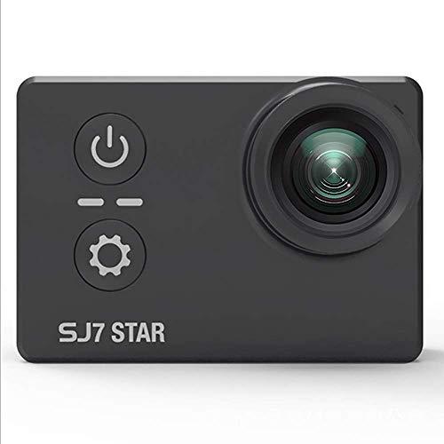 SJ7 Star WiFi 4 Karat 30FPS 2 'Touchscreen Fern Action Helm Sport DV Kamera Wasserdichte Ambarella A12S75 Chipsatz + 1 Stücke Extra Batterie + 1 Stücke Doppel Ladegerät + 16 GB TF Karte (Schwarz)