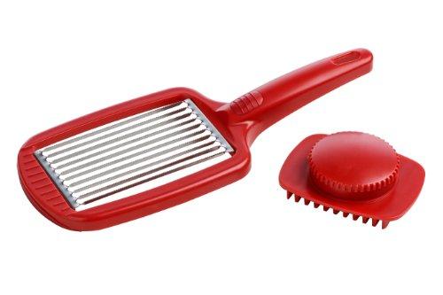 Premier Housewares - Cortador de Tomates, Color Rojo