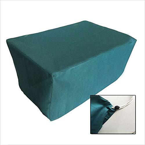 JIANFEI Housse Protection Salon De Jardin Équipement Machine Mobilier Étanche, 22 Tailles, Personnalisable (Couleur : Green, taille : 50x50x50cm)