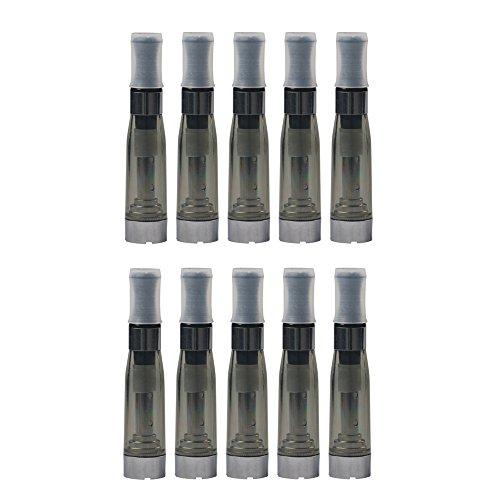Kanke Lot de 10 Réservoir Clearomiser CE5 Atomiseur Pour Cigarette Electronique 1,6ml Ne Contient pas de Nicotine ni de Tabac