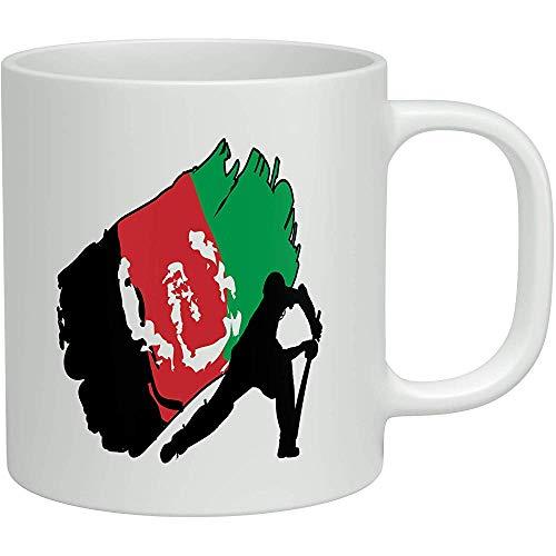 Afghanistan Cricket White 11oz Neuheit Geschenk Becher Tasse Kaffee